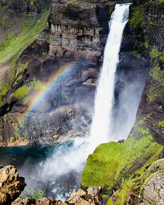 Haifoss in the central highlands